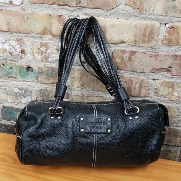 kate spade Handbags - Kate Spade black leather barrel bag
